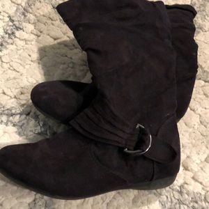 Shoes - 👢Little Girls Black Boots Size 3 👢